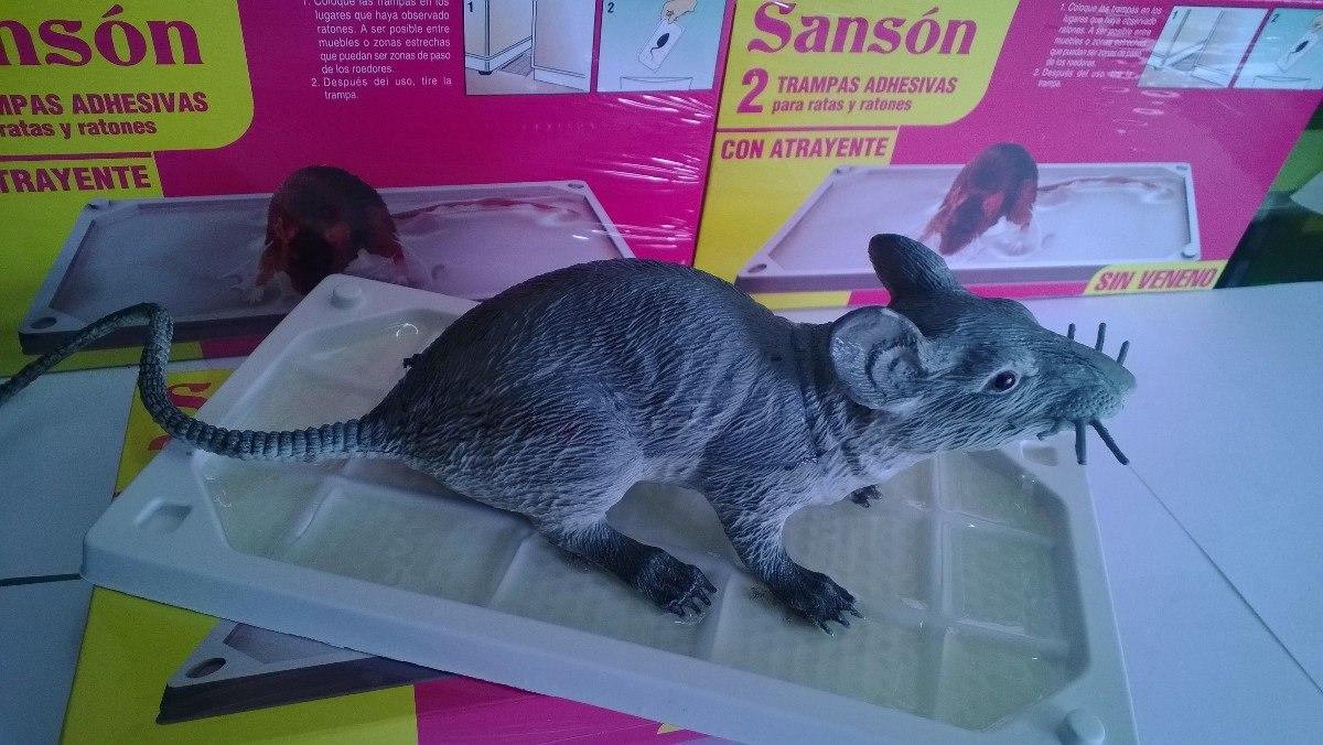 Trampa para ratas sanson s 29 99 en mercado libre - Trampas para ratones y ratas ...