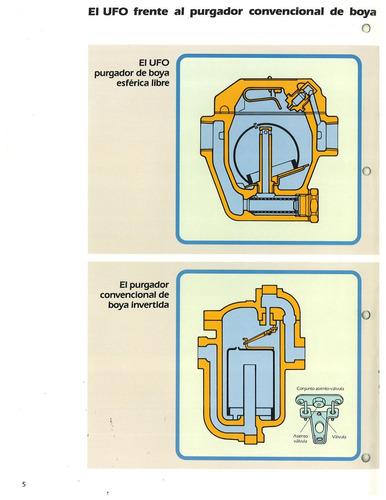trampa p/vapor balde esferico invertido tlv ufo3bn-5 1-1/2