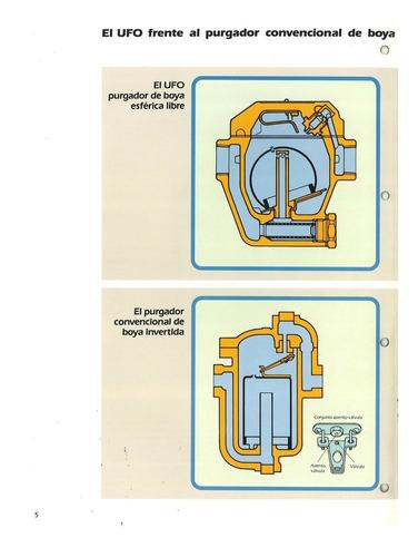 trampa p/vapor balde esferico invertido tlv ufo5bn-5 1 plg