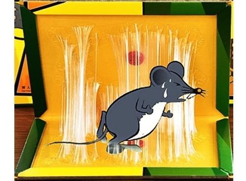 trampa ratones pegajosa 100% efectiva económica duradera