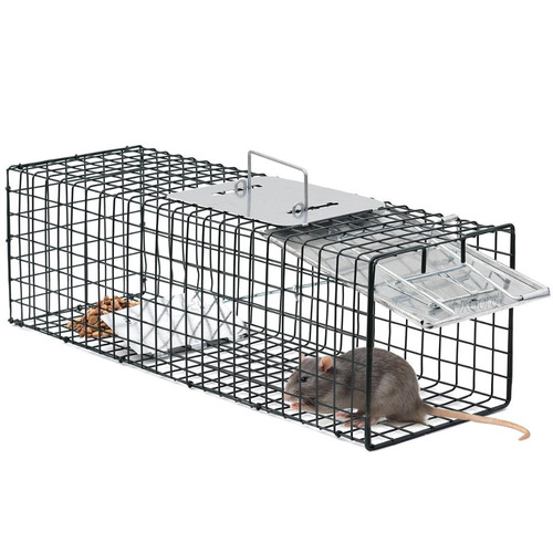 trampas,jaula para zarigüeyas zorros, mapaches, gatos, ratas