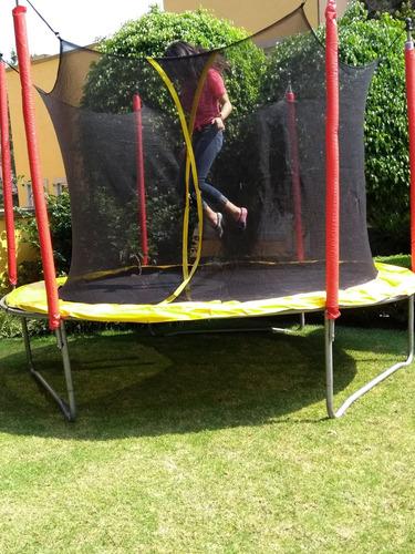 trampolin brincoline rento chico mediano grande y jumbo