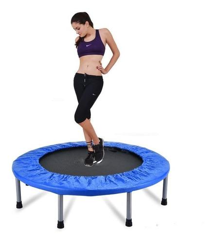 trampolin de salto redondo para ejercicios.
