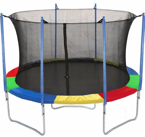 trampolin saltarin cama elastica 3 mts multicolor