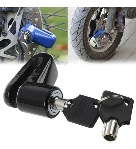 tranca traba candado para disco de freno moto bicicleta ®