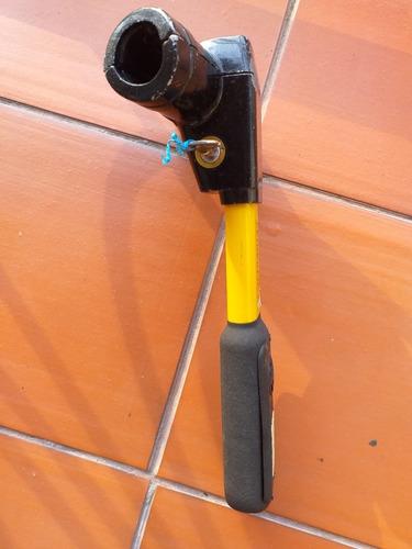 tranca volante con llaves, usado. 3