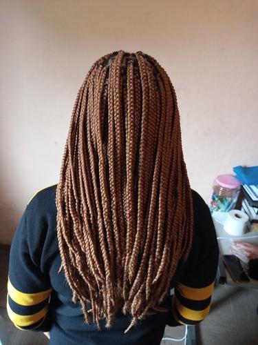 tranças box braids