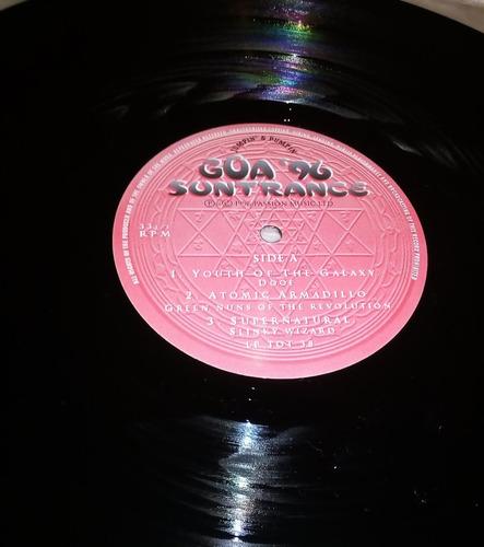 trance compilation suntrance - goa '96 (2 l p ed. u k 1996)