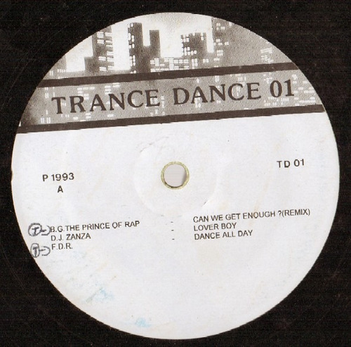 trance dance vol.01   lp   coletanea