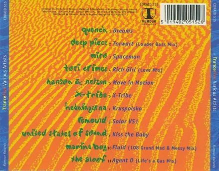trance five cd trance dance made england