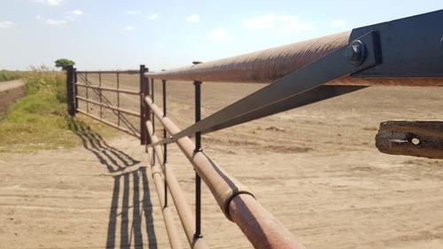 tranqueras de cetron de 1.5 mts a 5 mts de largo