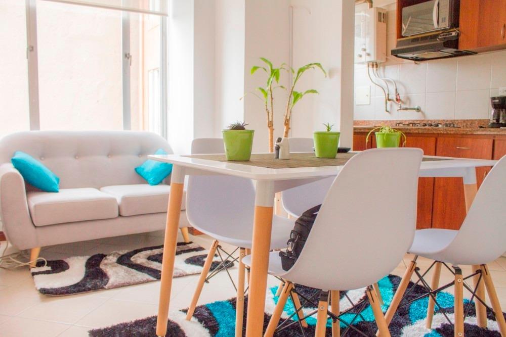tranquilo y acogedor apartamento chapinero bogotá