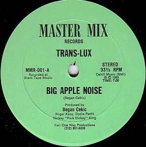 trans lux    12 single  big apple noise