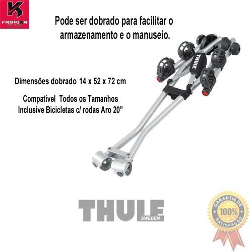 transbike bicicleta engate xpress 970 p/ 2 bike thule