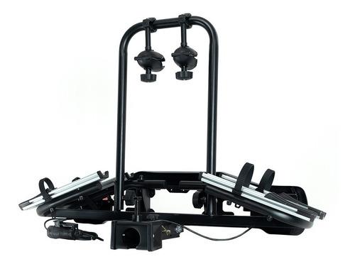 transbike de engate tsw aero 2 preto suporte para 2 bike
