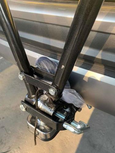 transbike engate  3 bikes universal preto c/ cintas seguro