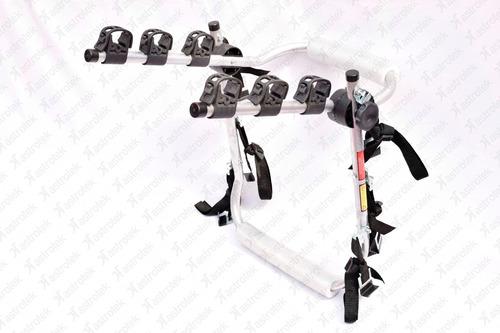 transbike para 1 , 2 ou 3 bikes com 6 fitas e protetor