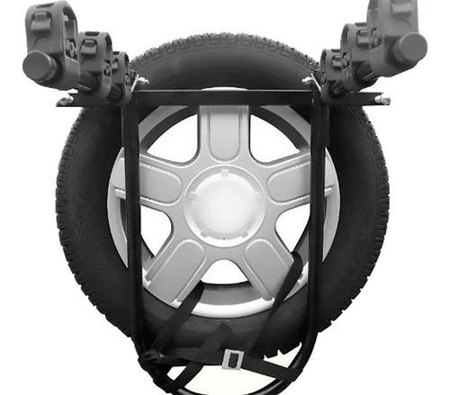 transbike rack bike p/ carros c/ estepe ecosport crossfox