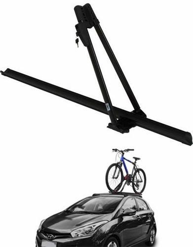 transbike suporte bicicleta teto kiussi modelo tonale preto