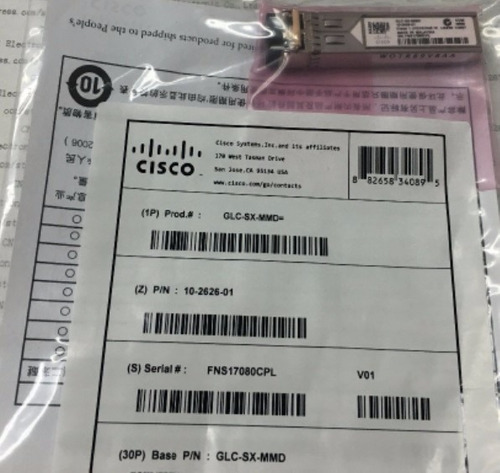 transceiver cisco glc-sx-mmd