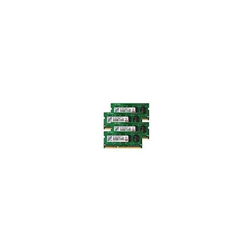 transcend 16gb (kit de 4gb x 4) jetmemory ddr3- 1600 so-dimm