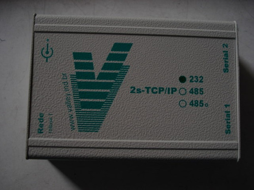 transciver  valley tcp/ip para rs-232 c-011