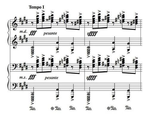 transcripción y edición de partituras en finale