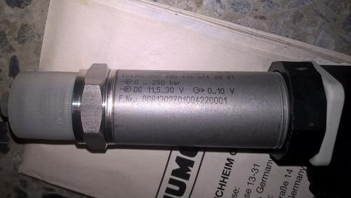 transductor de presion maquinas extrusoras jumo