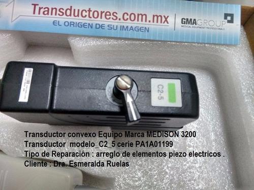 transductores medison reparacion asesoria asistencia