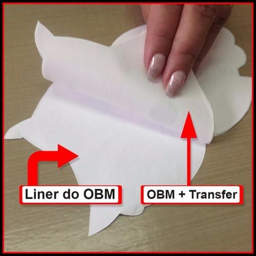 transf. obm a3 pra tecido esc. p/ algodão e poliester 50 fl