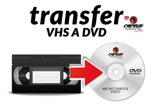transfer de video a dvd