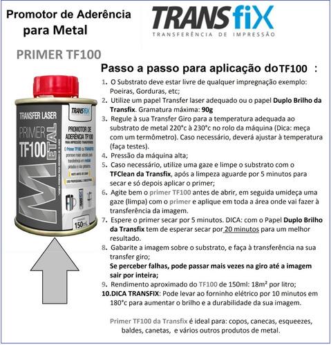 transfer laser primer tf100 para metal