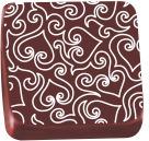 transfer para chocolate - (coração arabesco 8091 01) - 01