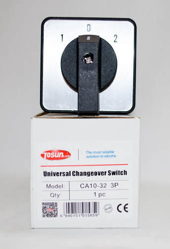 transfer switch 20amp para plantas electricas (manual)