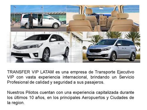transfer vip latam es una empresa de transporte ejecutivo