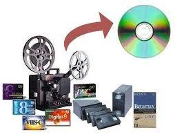 transferencia de cintas carrete 8mm ,super 8mm,16 a dvd