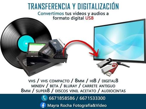 transferencia y digitalización