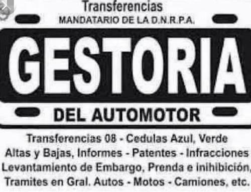 transferencias de autos y gestoria en general
