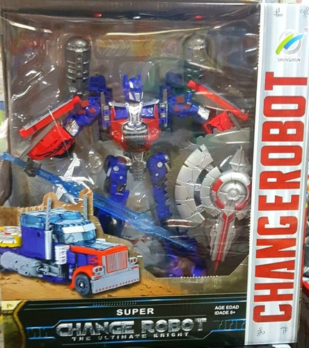 transfomer obtimus prime robot juguete camion +envio  oferta
