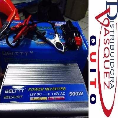 transformado potenter de 12v a 110v de 500 watts tuning car