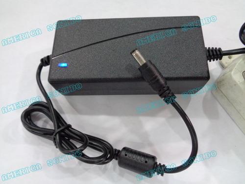transformador 12v 4a para dvr camara monitor cinta led...