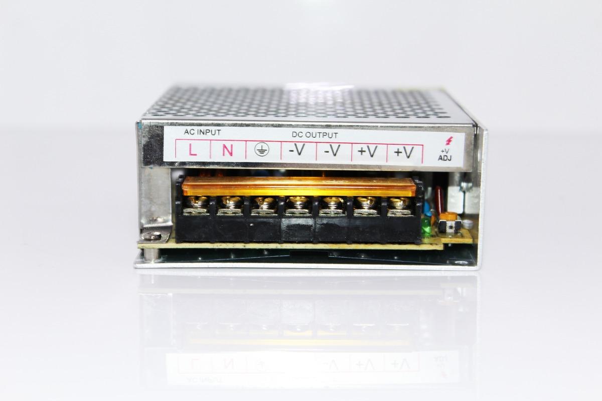 Transformador 12v de 100w para tiras de led en for Transformador led 12v