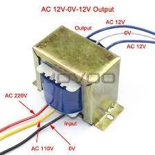 transformador 1a 110/220v 12-0-12 electronica arduino