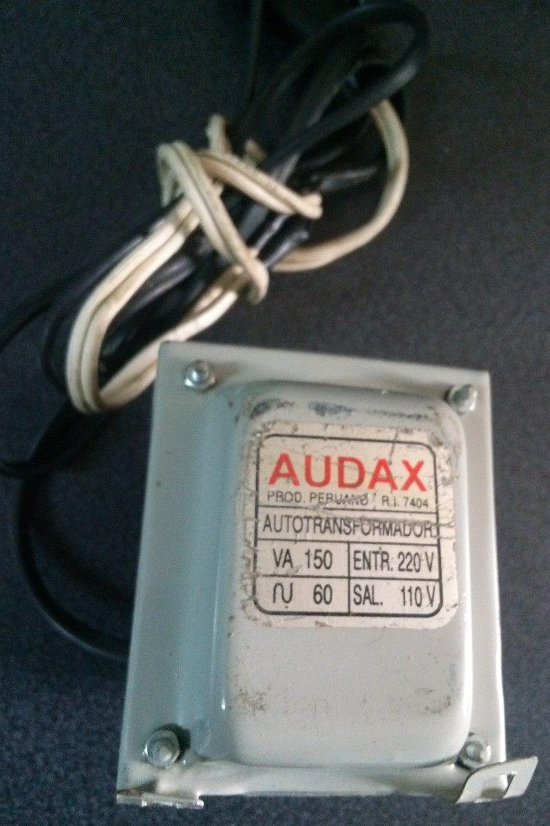 Transformador 220 a 110 voly marca audax 150va s 55 - Transformador 220 a 110 ...