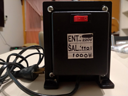 transformador 220/110v de 1000 wt (mar del plata)