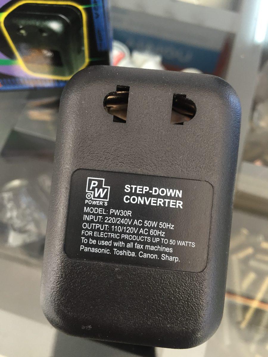 Transformador 220v 110v 50 w power 39 s 270 00 en - Transformador 220 a 110 ...