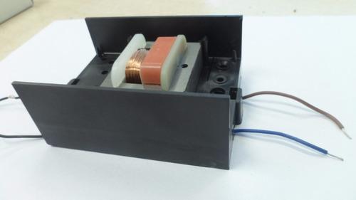 transformador 220v 12+12v alterna 300ma con caja fz2562