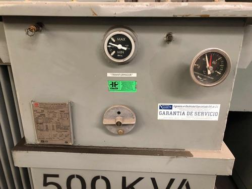 transformador 500 kva