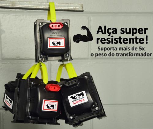 transformador 5000va bivolt 110 220 ou 220 110 ar 12000 btus