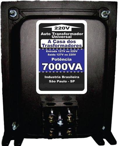 transformador 7000va 110 220 ou 220 110 ar condicionado spli